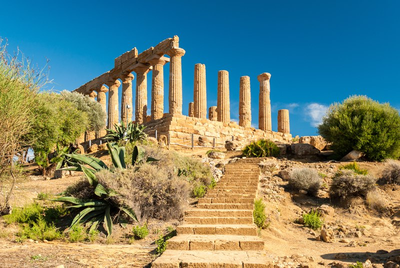 Valley of Temples in Agrigento Sicily