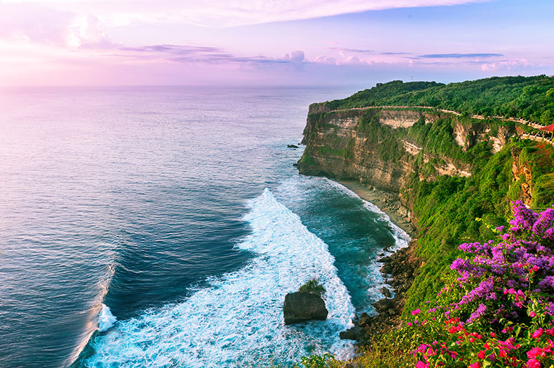 CLiffside in Bali