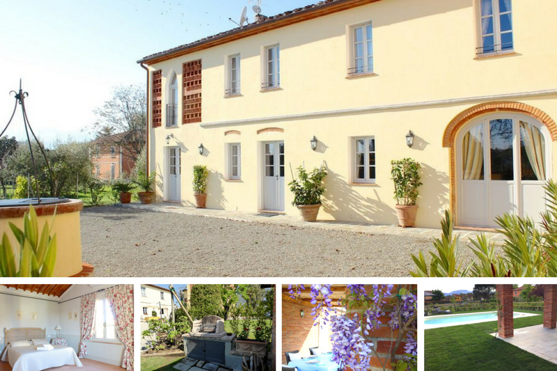 Villa Cerine, a four-bedroom manor with swimming pool