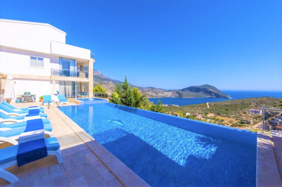 private pool, villa holiday, mountain views