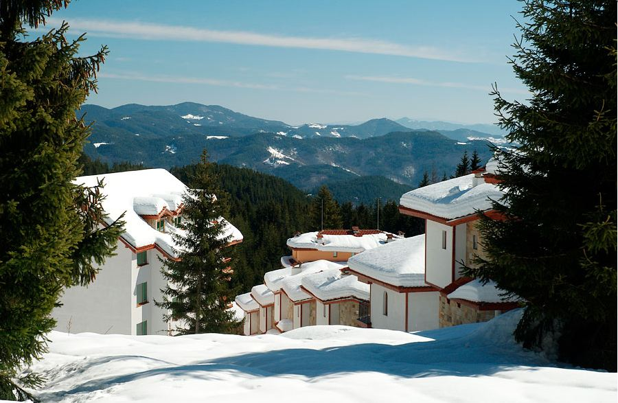 Winter in Pamporovo, Bulgaria
