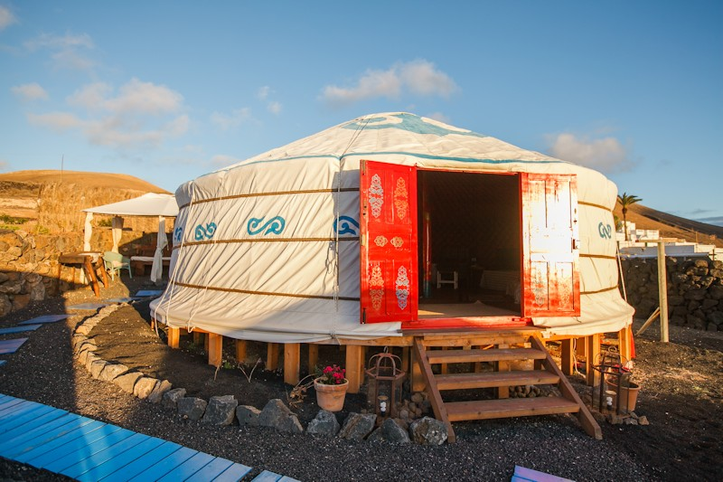 Yurt Massage Lanzarote