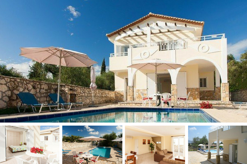 Two bedroom villa in Zakynthos, near beach