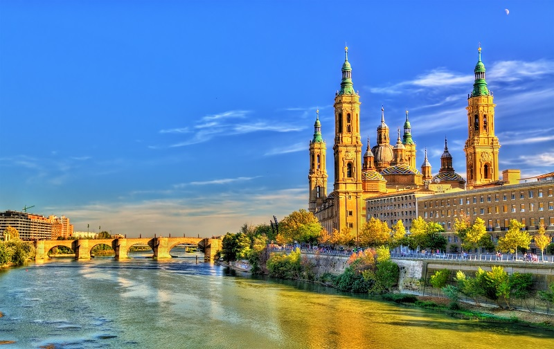 Zaragoza, city in the Aragon region of Spain.