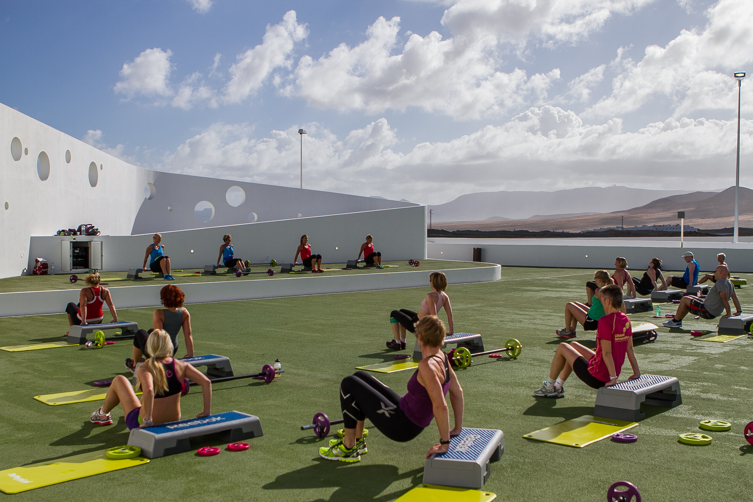Lanzarote sport classes - La Santa