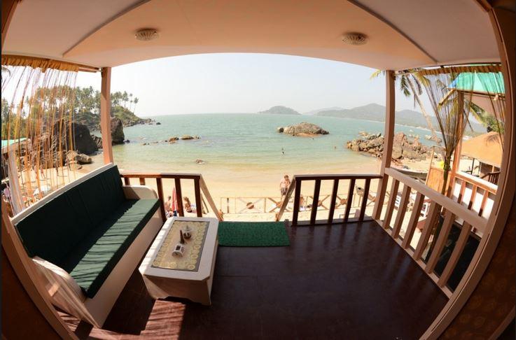 Beach hut Goa