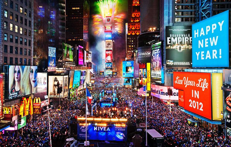 Times Square New York New Year