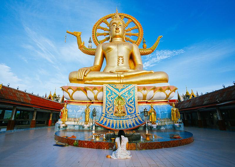 Koh Samui's Big Buddah temple
