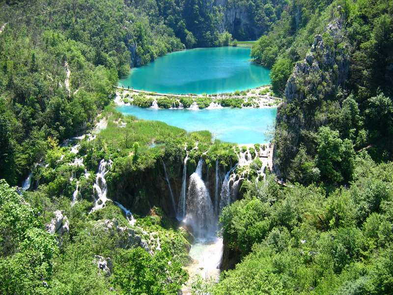 Plitvice Lake in Croatia / Plitvica Lake