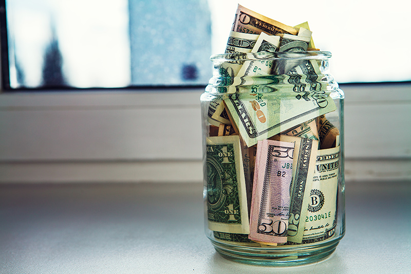 A pot of money to save for your next holiday