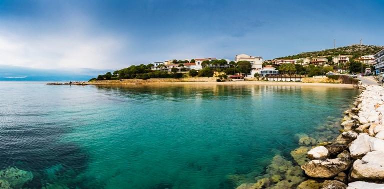 Beach near Cesme in Turkey