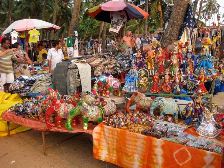 Flea market Goa
