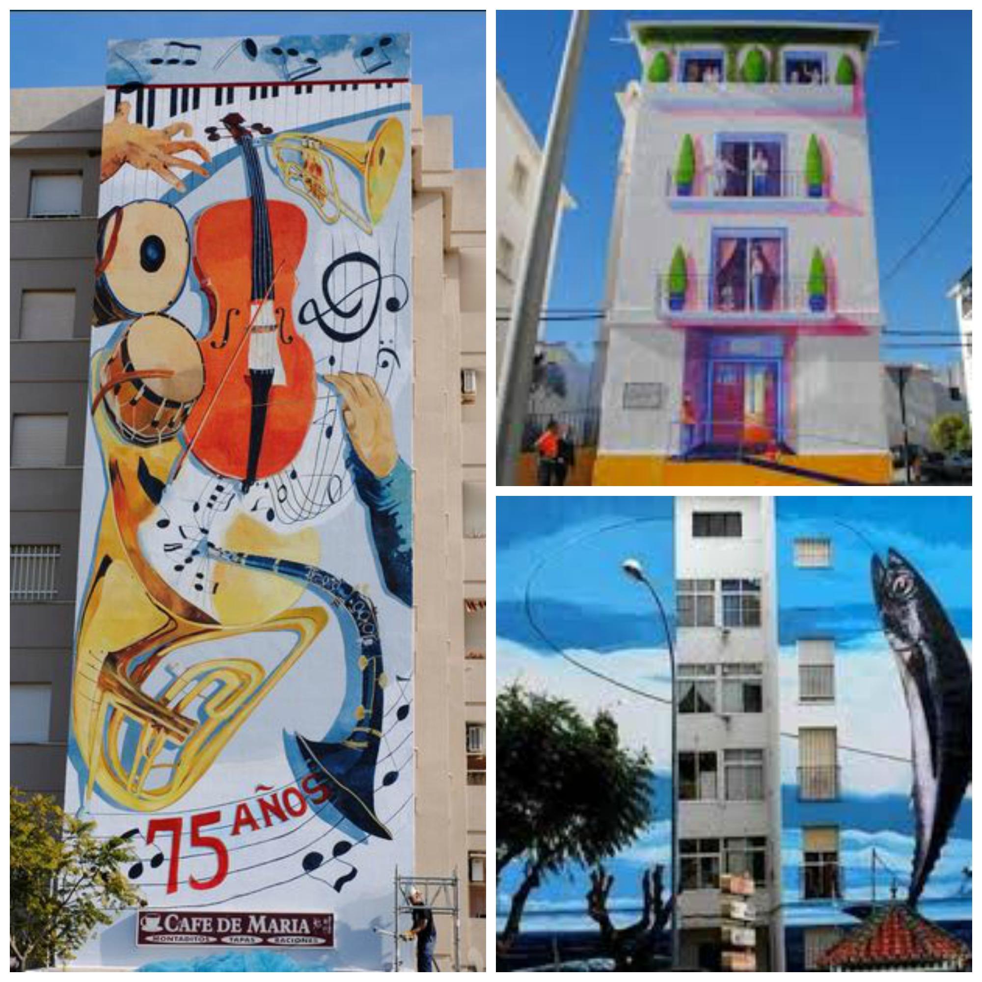 graffiti at Ruta de Murales Artisticos