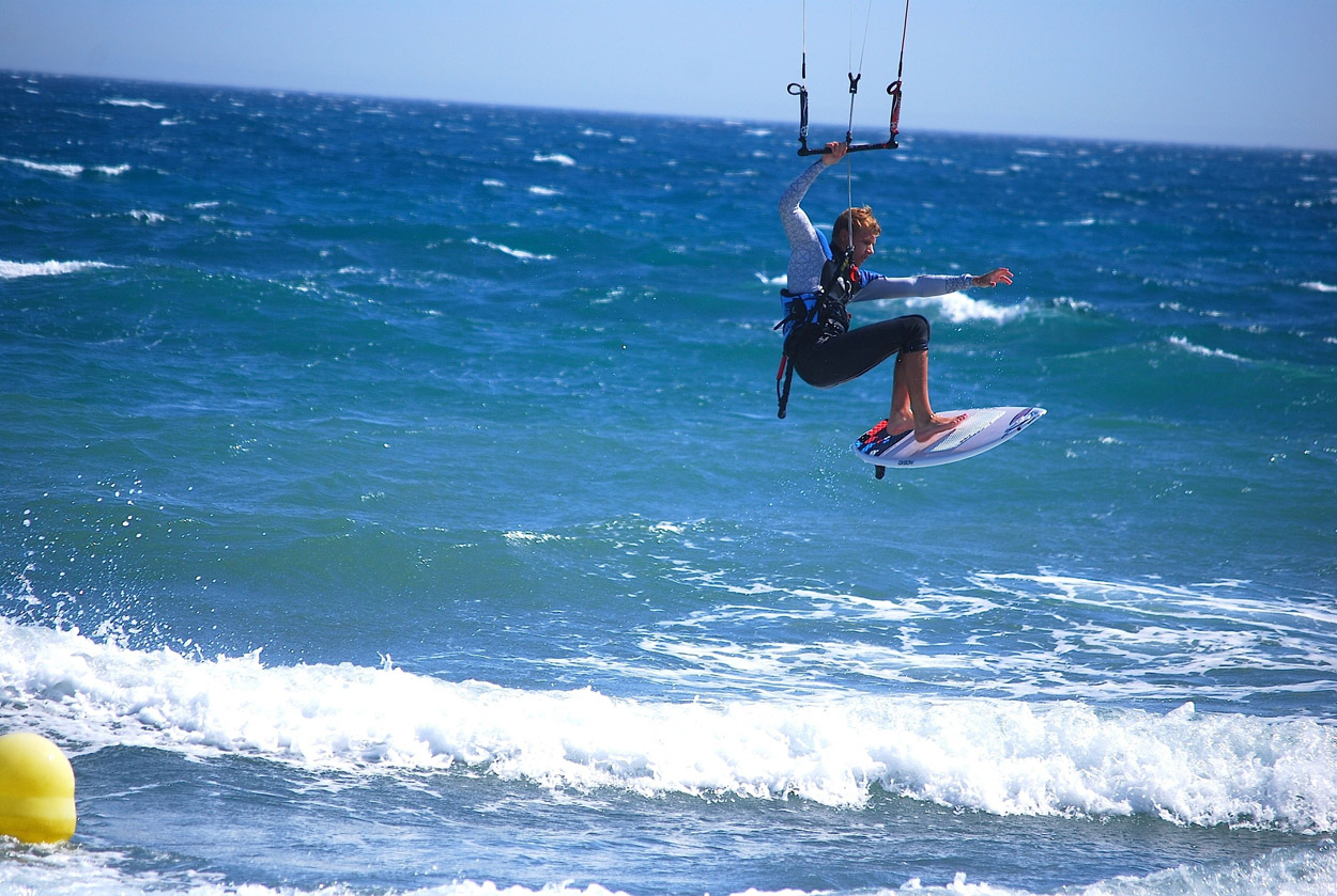 windsurfing in Tarifa
