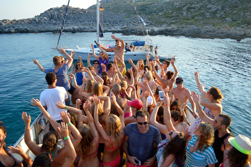 Boat trips in Greece