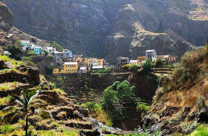 The incredible Fointainhas Village in Santo Antao, Cape Verde