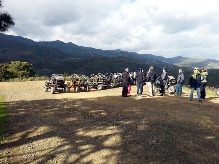 Four wheel drive off-road tour in Estepona