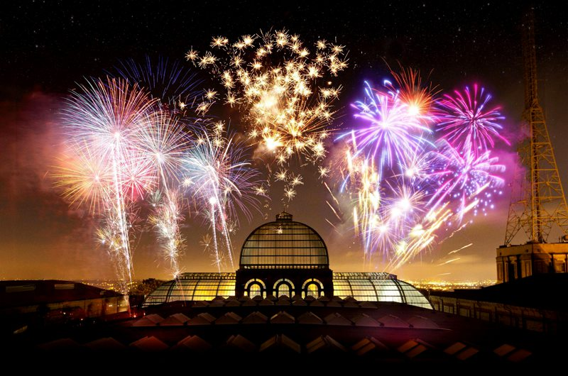 Alexandra Palace Fireworks London