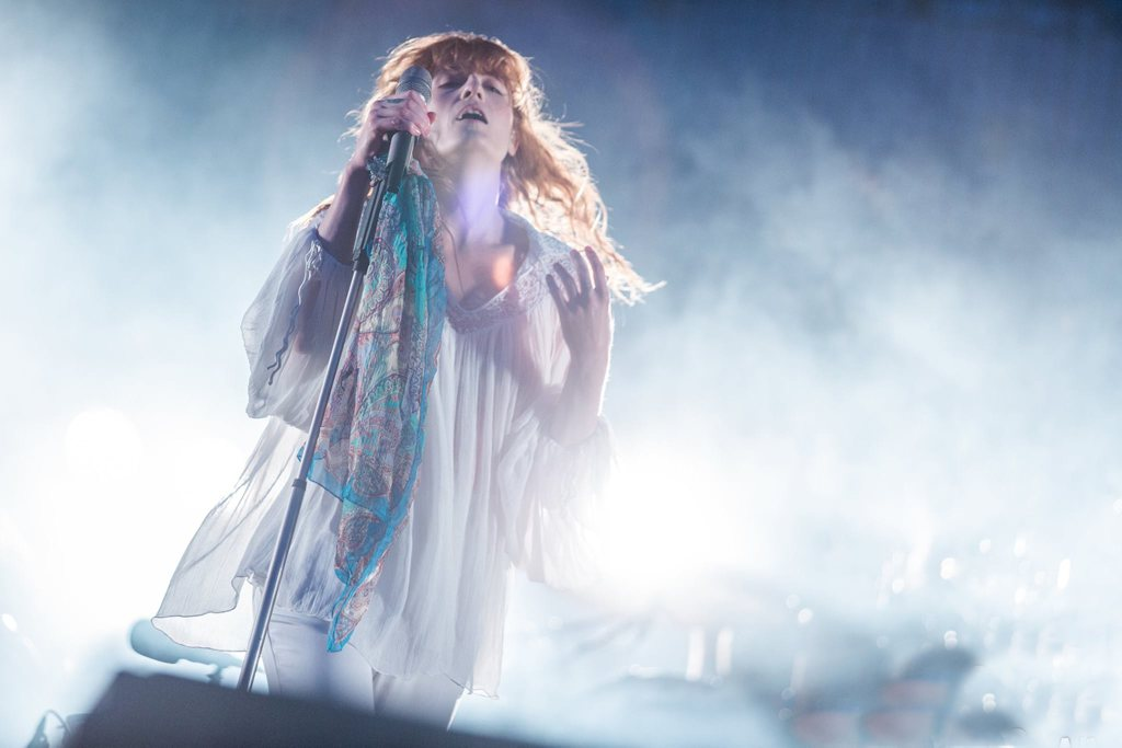 Florence the machine hurricane festival