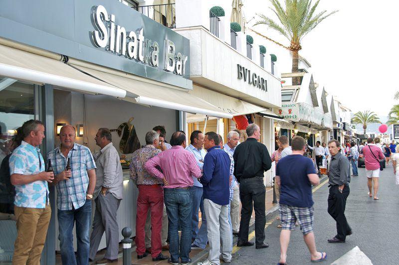 Sinatra bar in Marbella