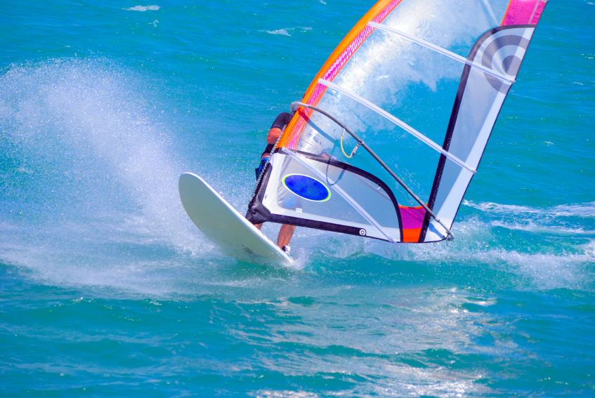 Windsurfing in Fuerteventura