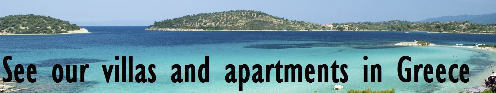 villas and apartments in Greece