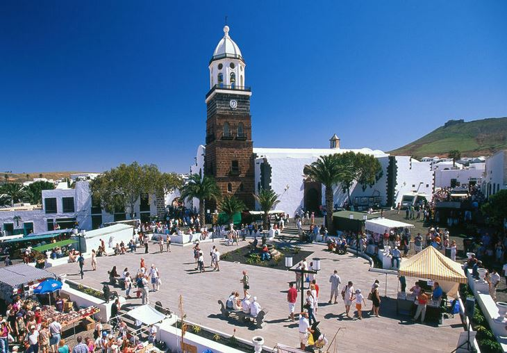 Market in Lanzarote