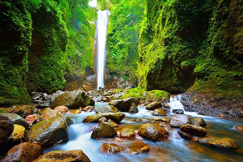 Kazaroro scenic waterfall Philippines
