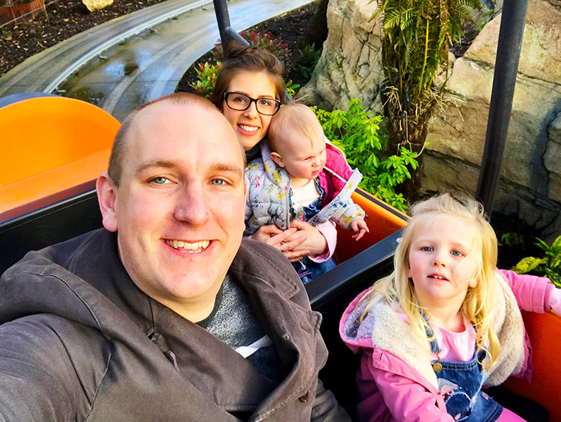Clickstay blogger Kerry and her family