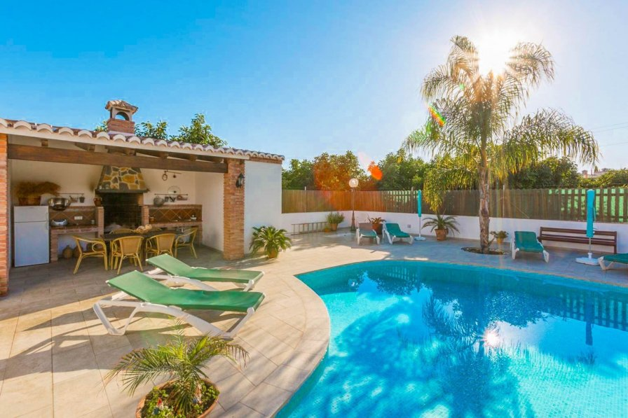 Private pool villa in Nerja, Costa del Sol, Spain