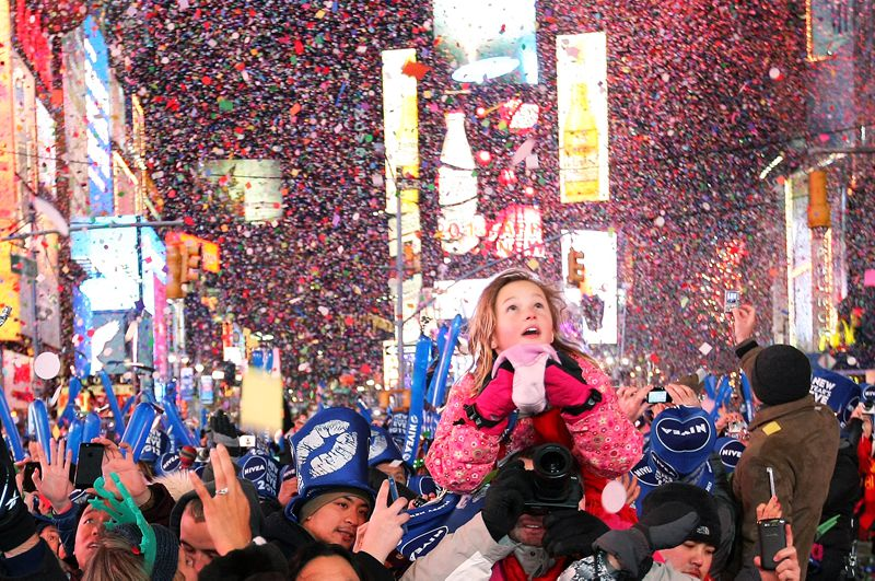 New Year's Eve in Times Square New York