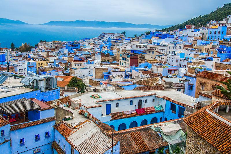 Morocco rooftops