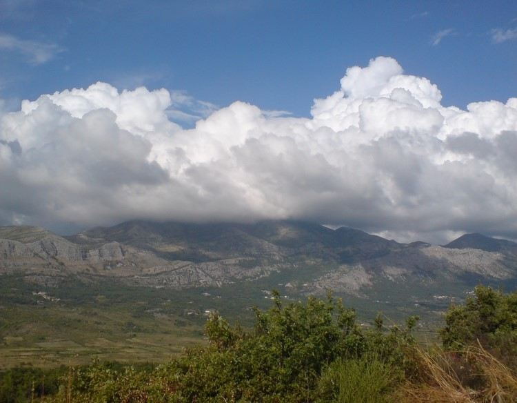 Sniježnica mountain near Komaji in Croatia