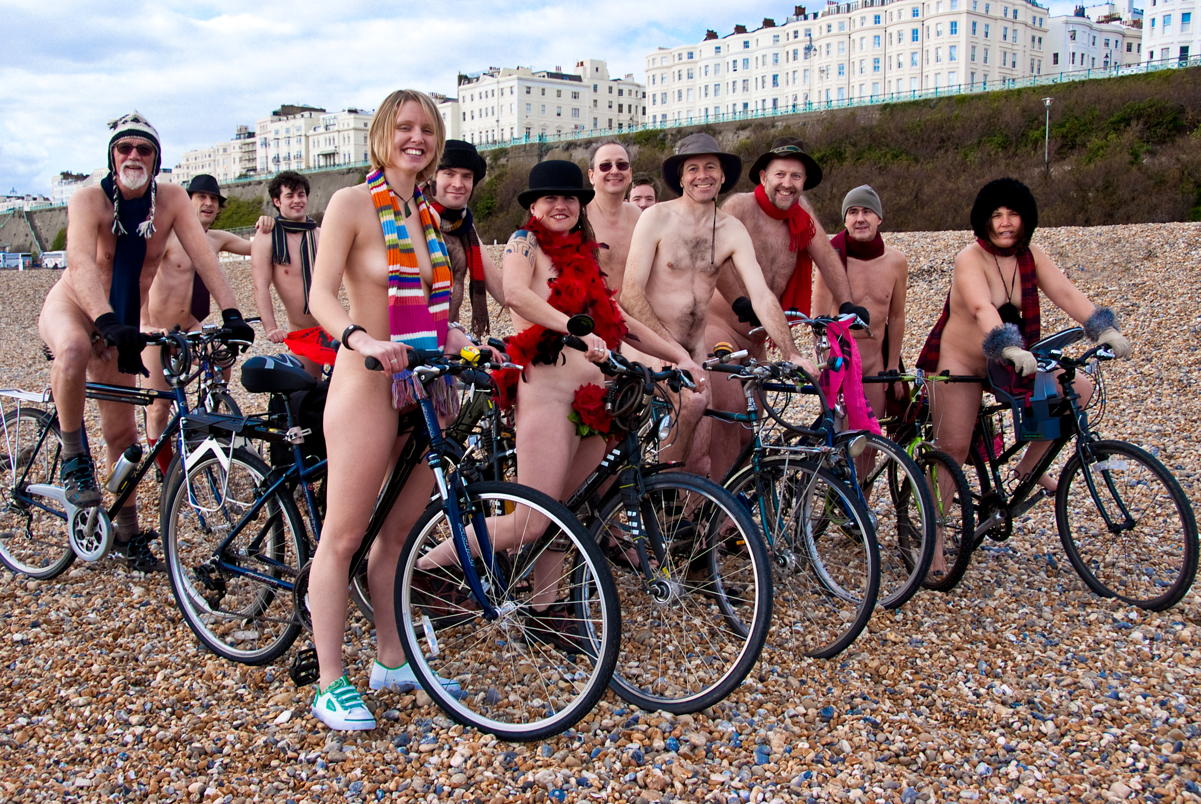 Naked Bike Ride - Visit Brighton