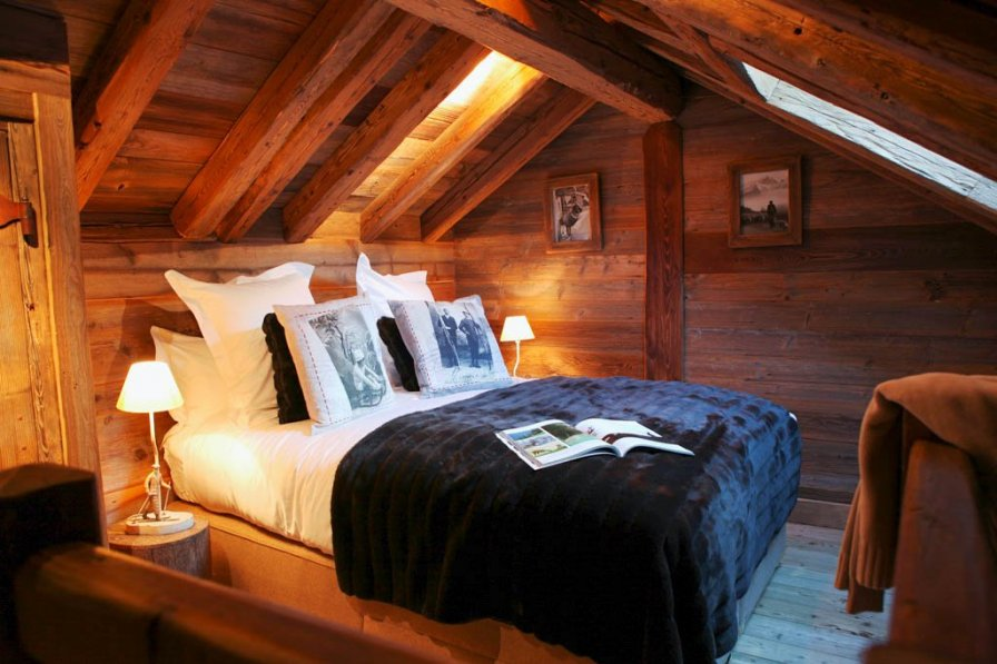 Romantic chalet for two in Courchevel