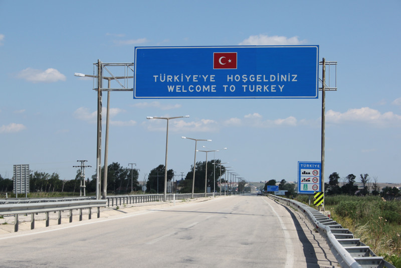 Welcome to Turkey sign