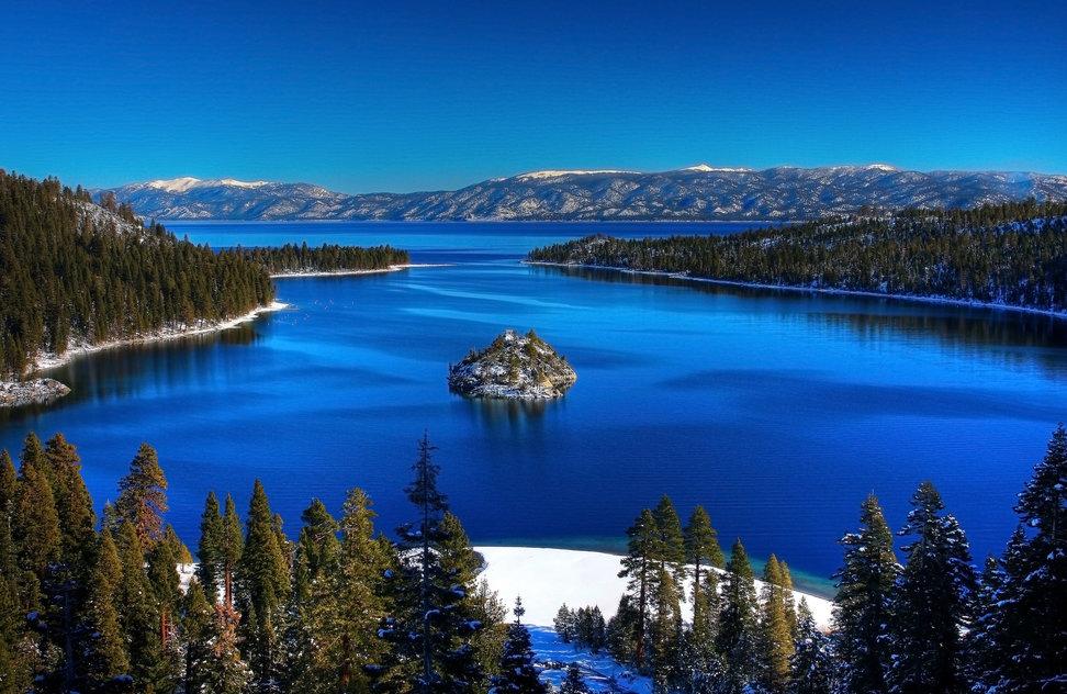 Lake Tahoe, California - lakes in the USA
