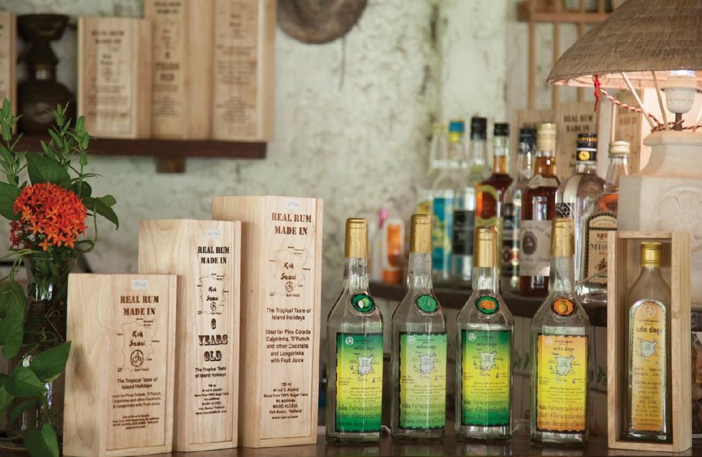 rum distilery Koh Samui