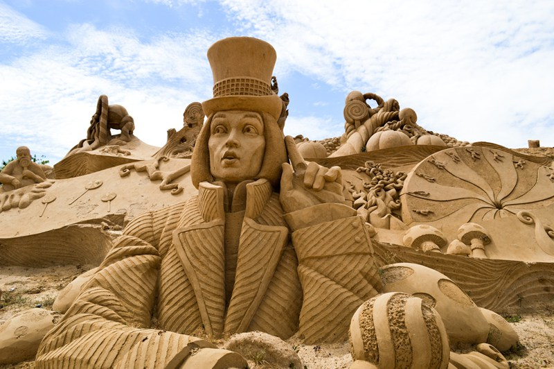 Sand Sculpture Festival in the Algarve