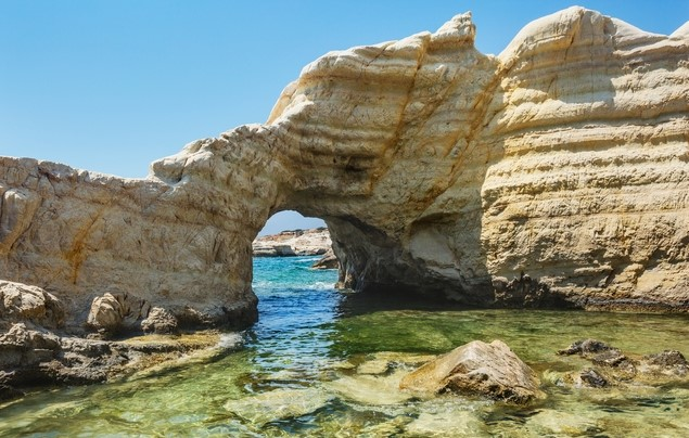 Sea Caves near Paphos