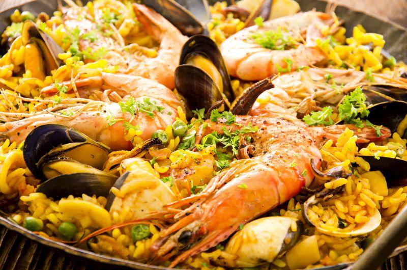 Paelaa Spain Food