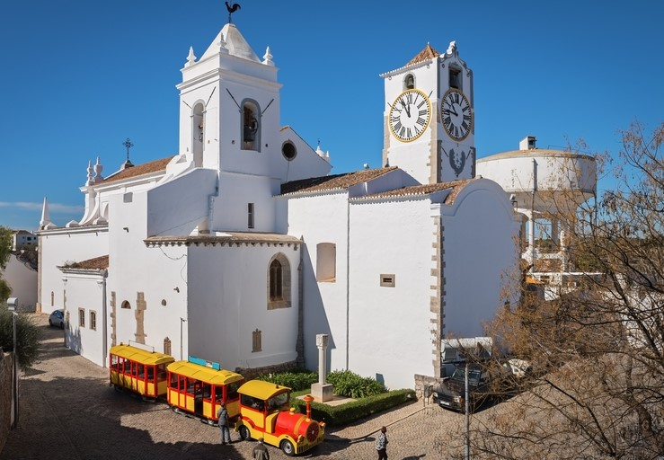 Tourist train in Tavira