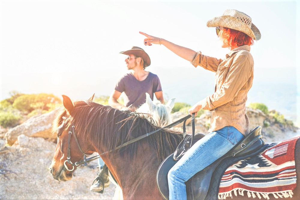 horseriding tour on holiday in Spain