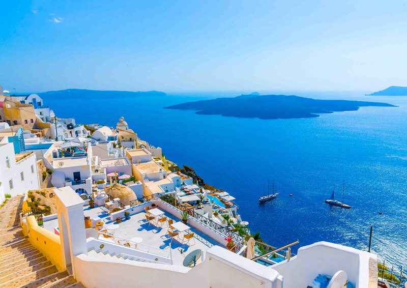 Greek Islands Sea