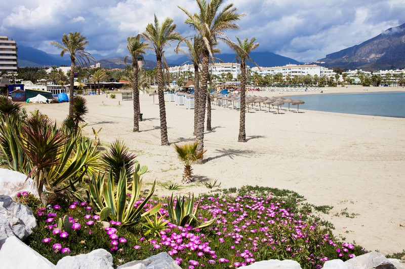 Beach at Puerto Banus