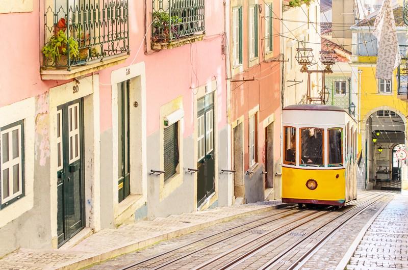 Lisbon Portugal Tram