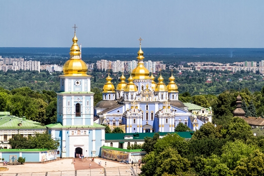 St Sophia's Cathedral in Kiev, Ukraine