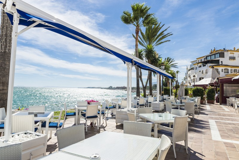 Puerto Banus offers some of the best restaurants in Marbella
