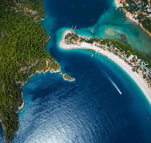 Ölüdeniz and the blue lagoon, Turkey