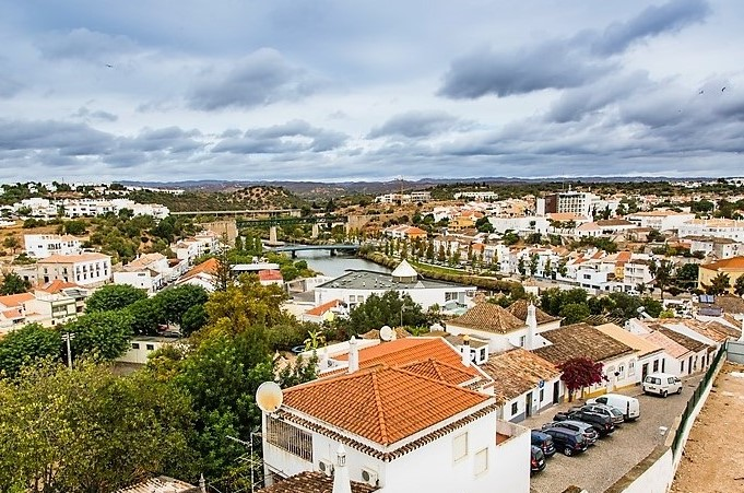 Views from Tavira Castle, Tavira, Portugal